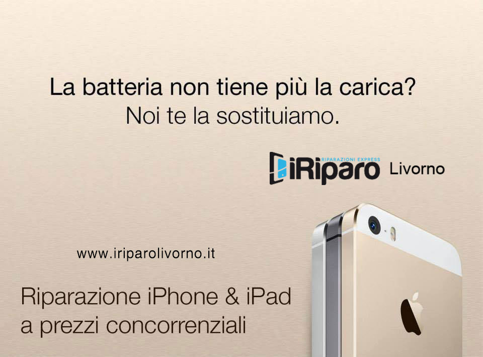 riparare Iphone livorno